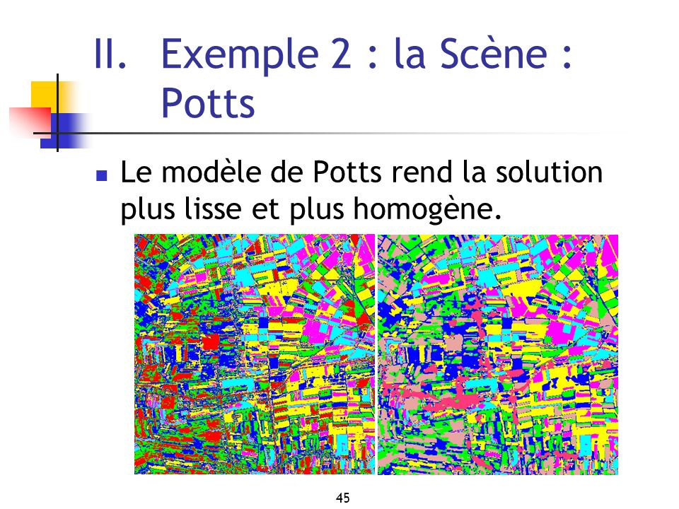 II. Exemple 2 : la Scène : Potts