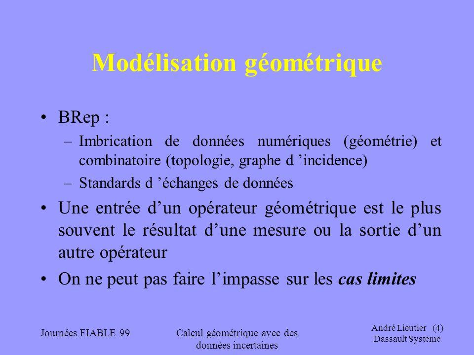 Modélisation géométrique