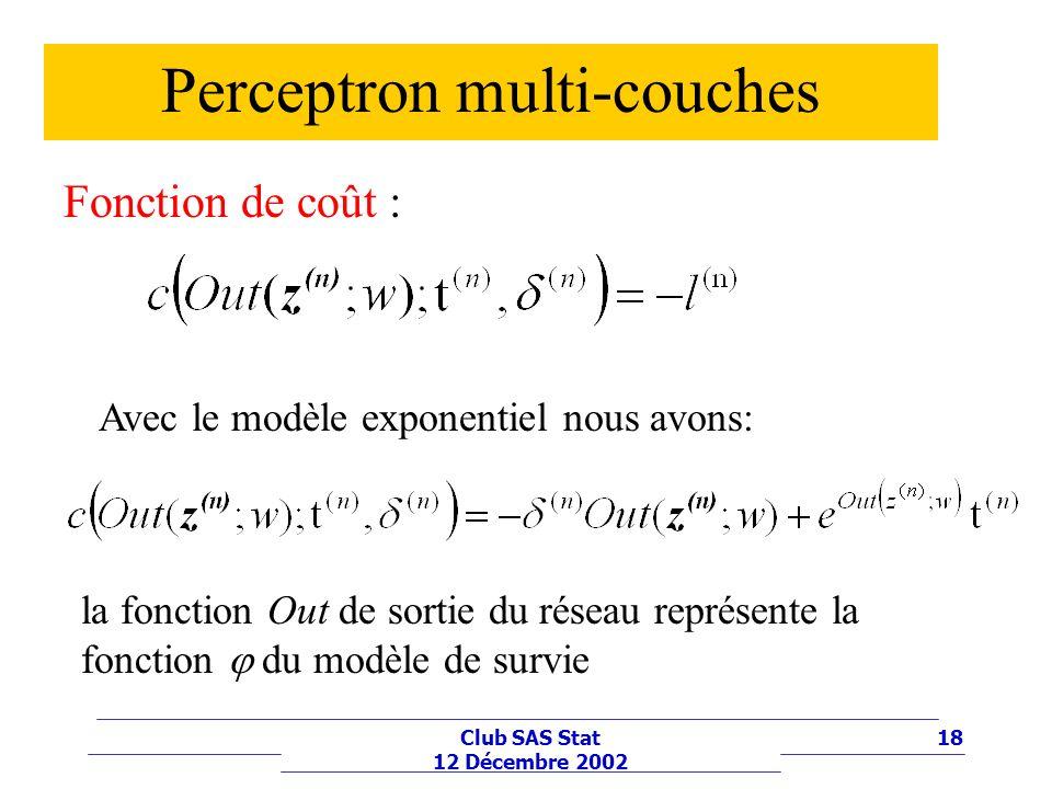 Perceptron multi-couches
