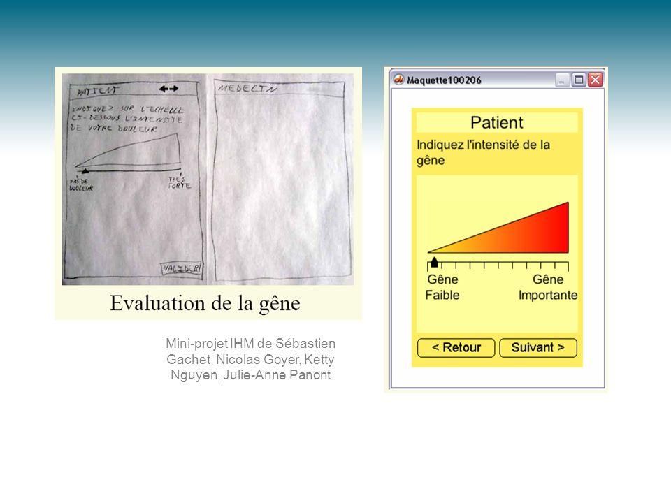 Mini-projet IHM de Sébastien Gachet, Nicolas Goyer, Ketty Nguyen, Julie-Anne Panont