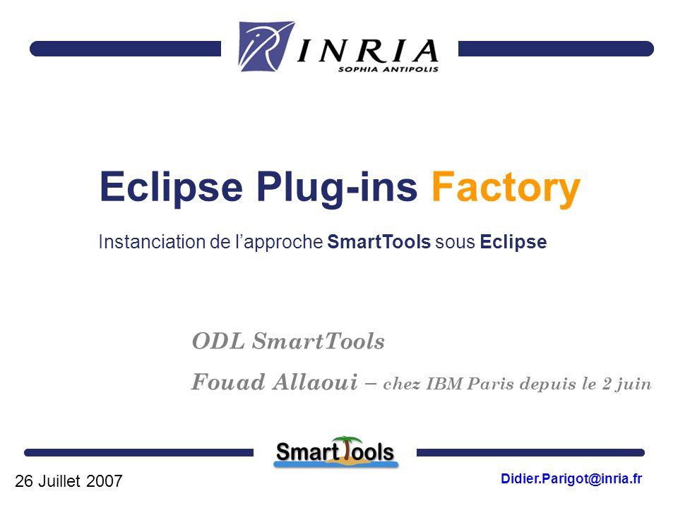 Eclipse Plug-ins Factory