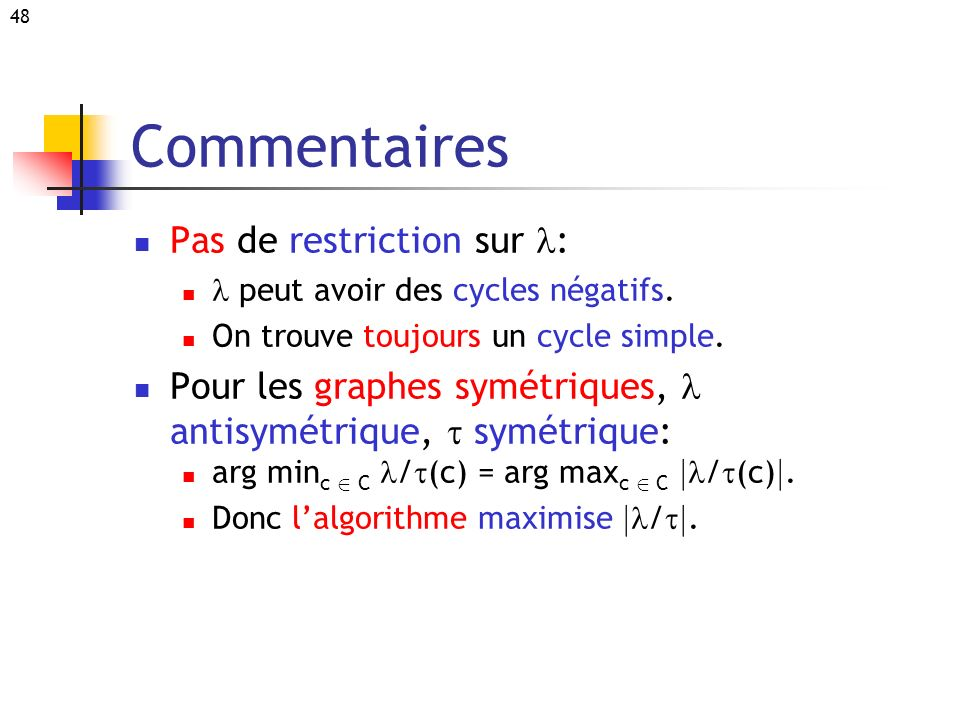 Commentaires Pas de restriction sur l: