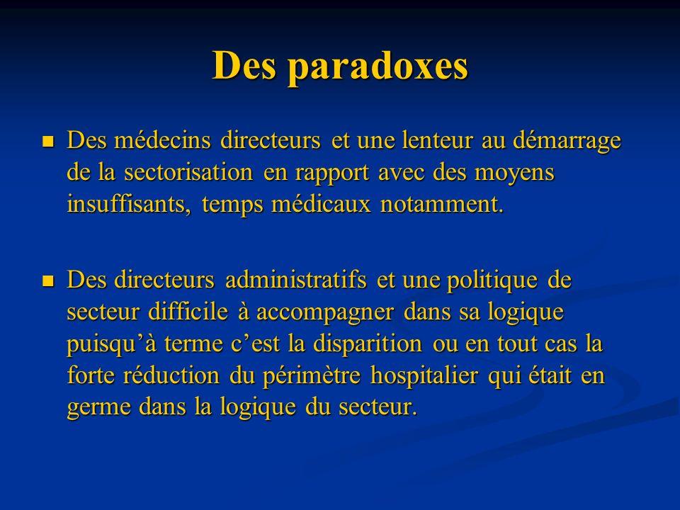 Des paradoxes