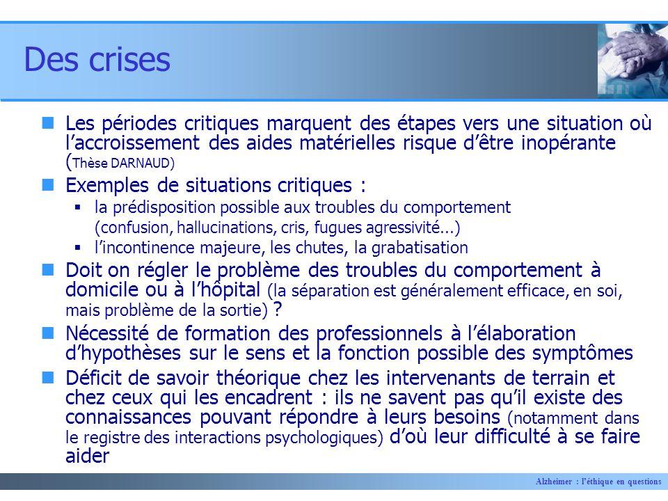 Des crises