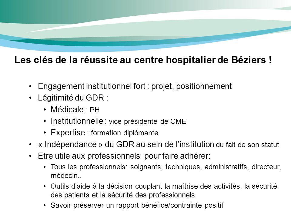 Les clés de la réussite au centre hospitalier de Béziers !
