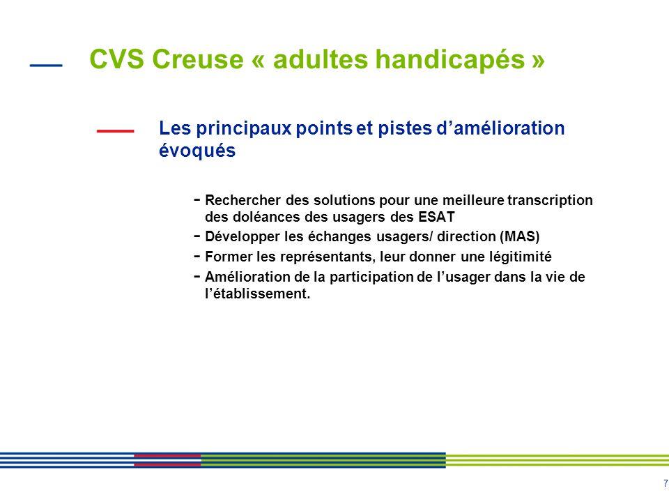 CVS Creuse « adultes handicapés »