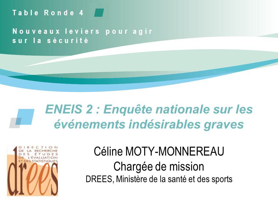 ENEIS 2 : Enquête nationale sur les événements indésirables graves