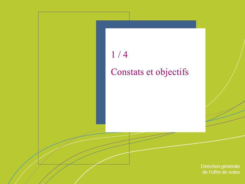 1 / 4 Constats et objectifs ORGANISATION & MISSIONS Direction générale