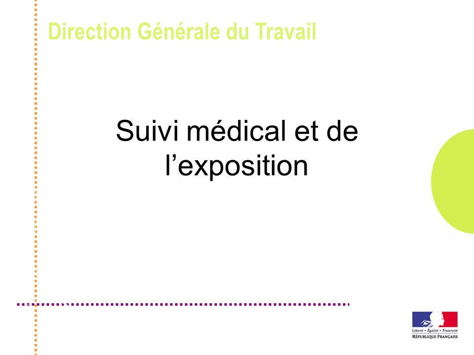 Suivi médical et de l'exposition