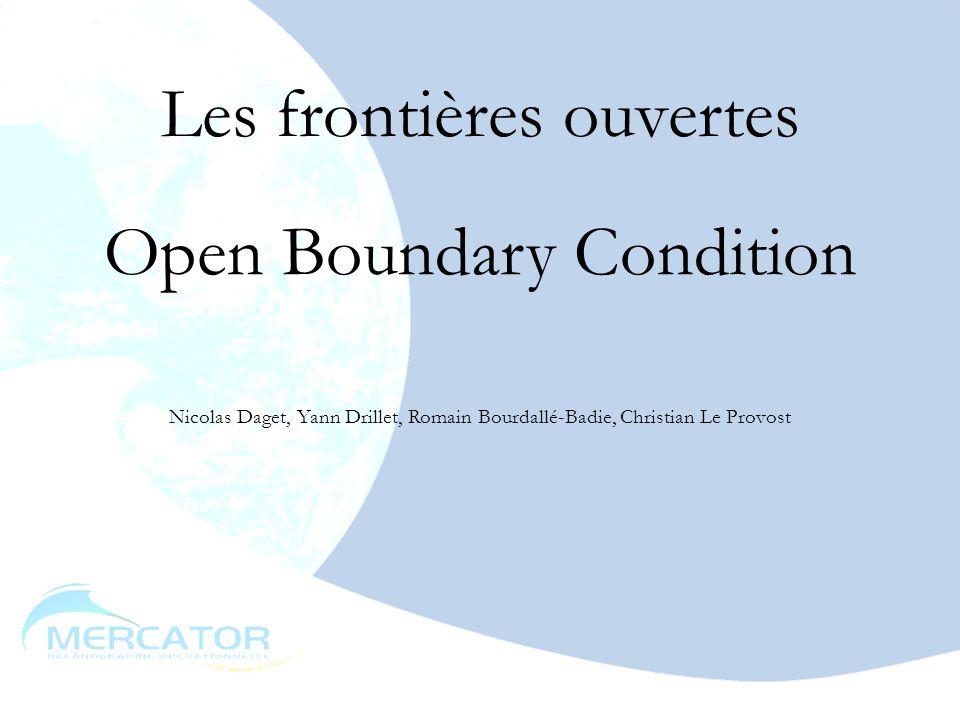 Les frontières ouvertes