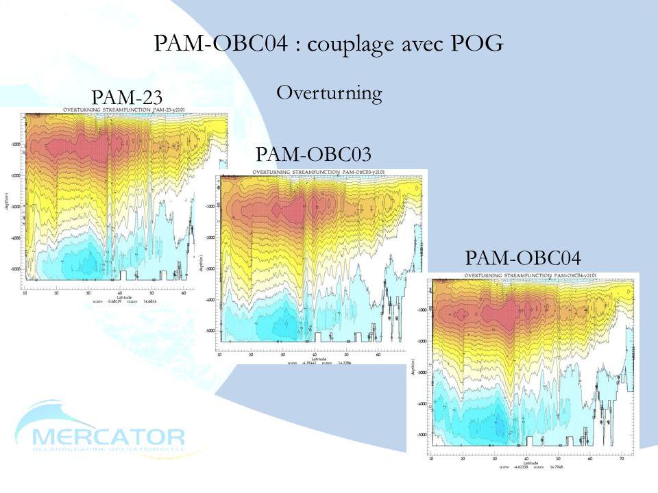 PAM-OBC04 : couplage avec POG