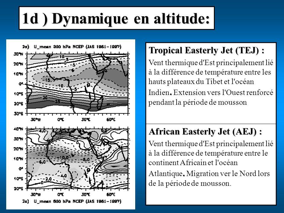 1d ) Dynamique en altitude: