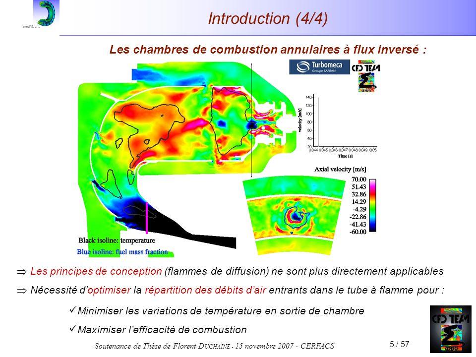 Les chambres de combustion annulaires à flux inversé :