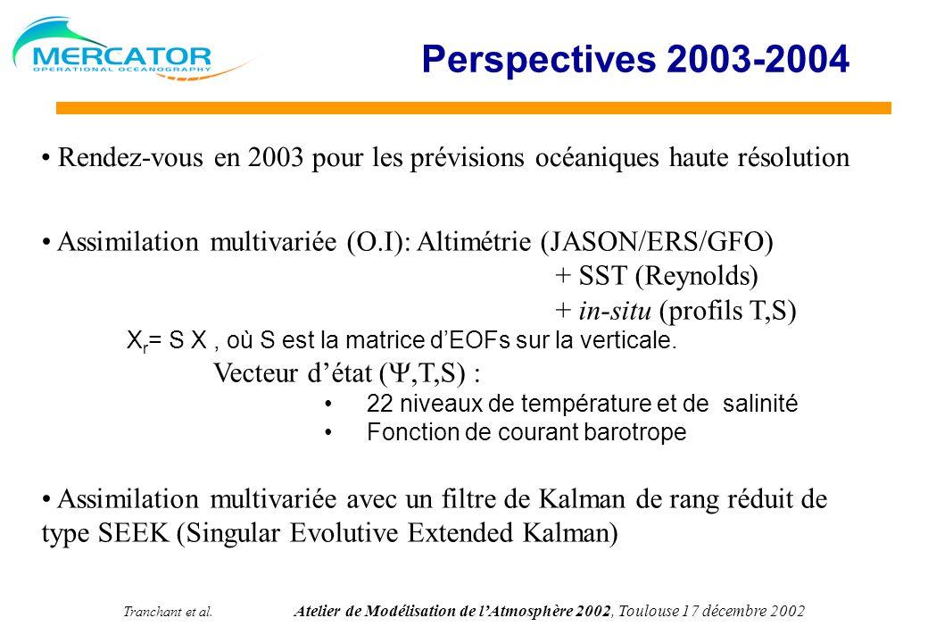 Perspectives 2003-2004 Rendez-vous en 2003 pour les prévisions océaniques haute résolution.