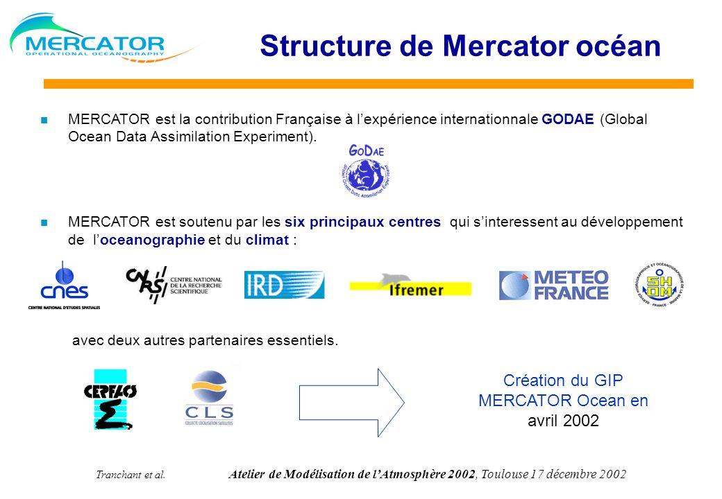 Structure de Mercator océan