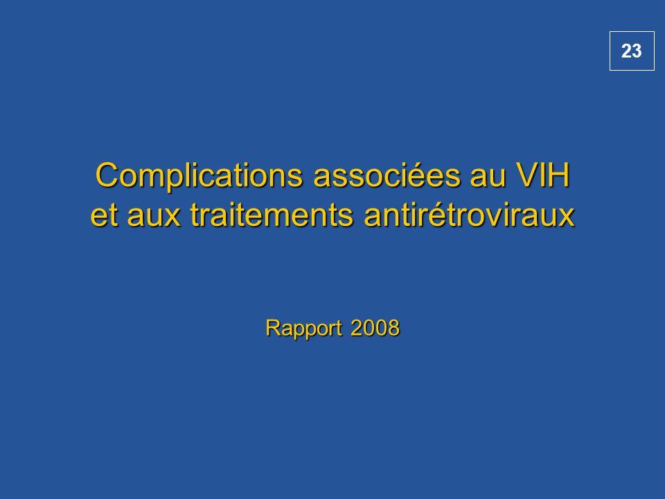 Complications associées au VIH et aux traitements antirétroviraux Rapport 2008