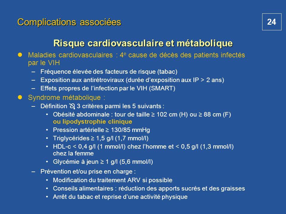 Risque cardiovasculaire et métabolique