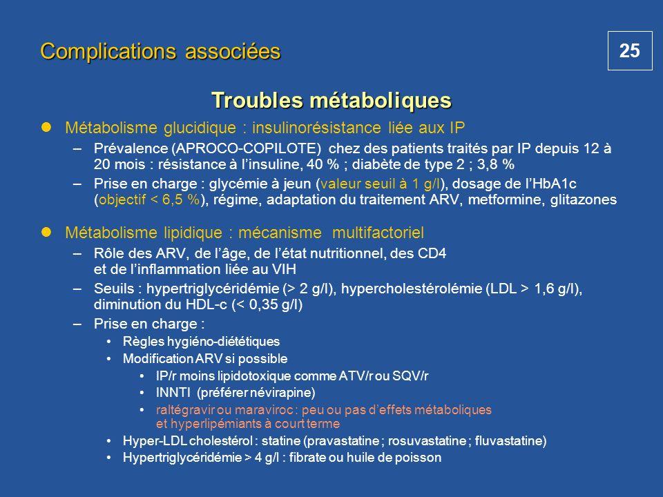 Troubles métaboliques