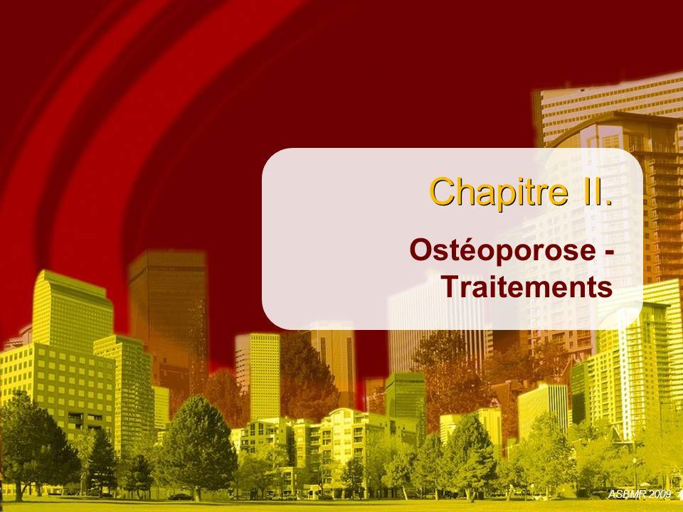Ostéoporose - Traitements