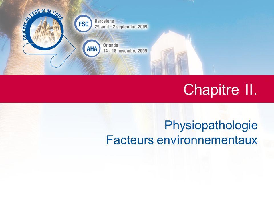 Physiopathologie Facteurs environnementaux