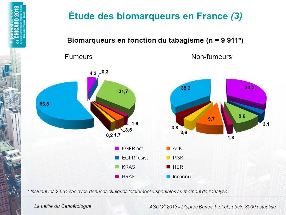 Étude des biomarqueurs en France (3)