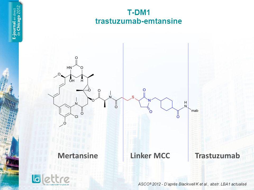 T-DM1 trastuzumab-emtansine