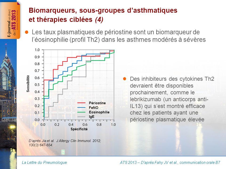 Biomarqueurs, sous-groupes d'asthmatiques et thérapies ciblées (4)
