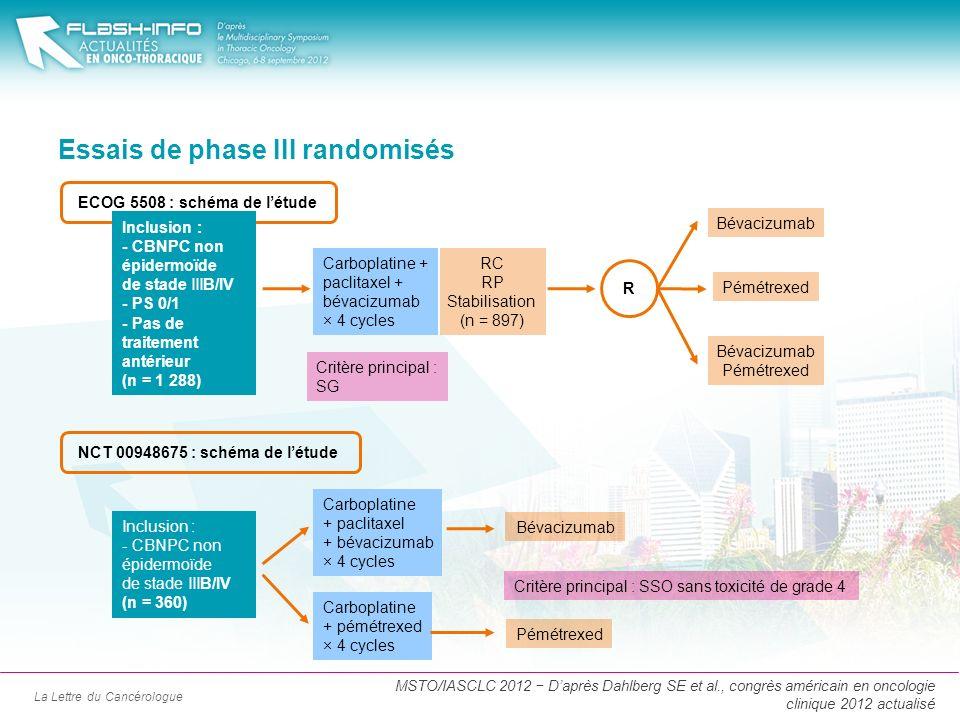 Essais de phase III randomisés