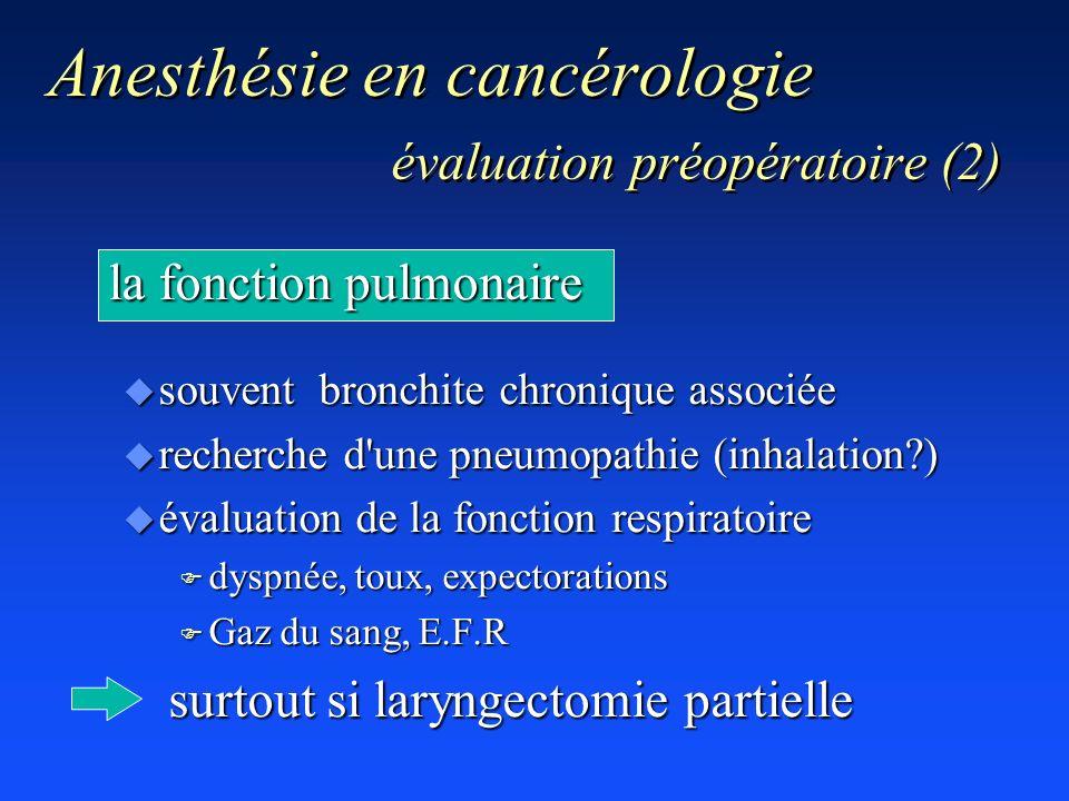 Anesthésie en cancérologie évaluation préopératoire (2)