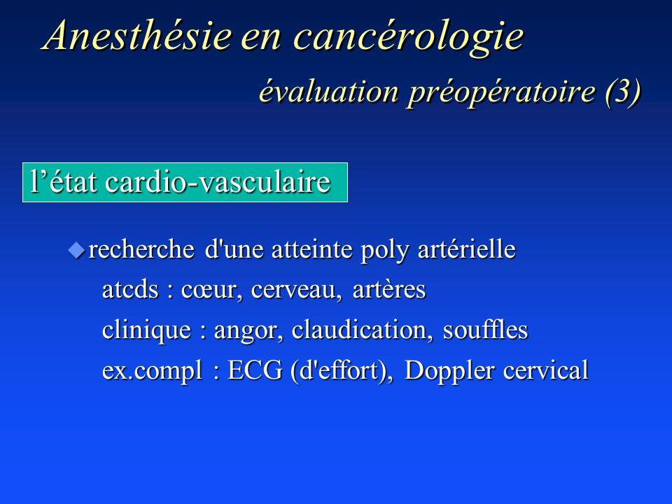 Anesthésie en cancérologie évaluation préopératoire (3)