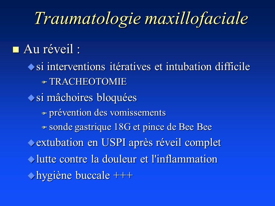 Traumatologie maxillofaciale