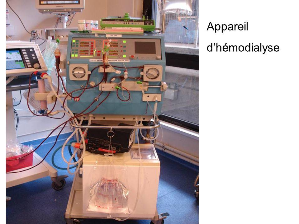 Appareil d'hémodialyse