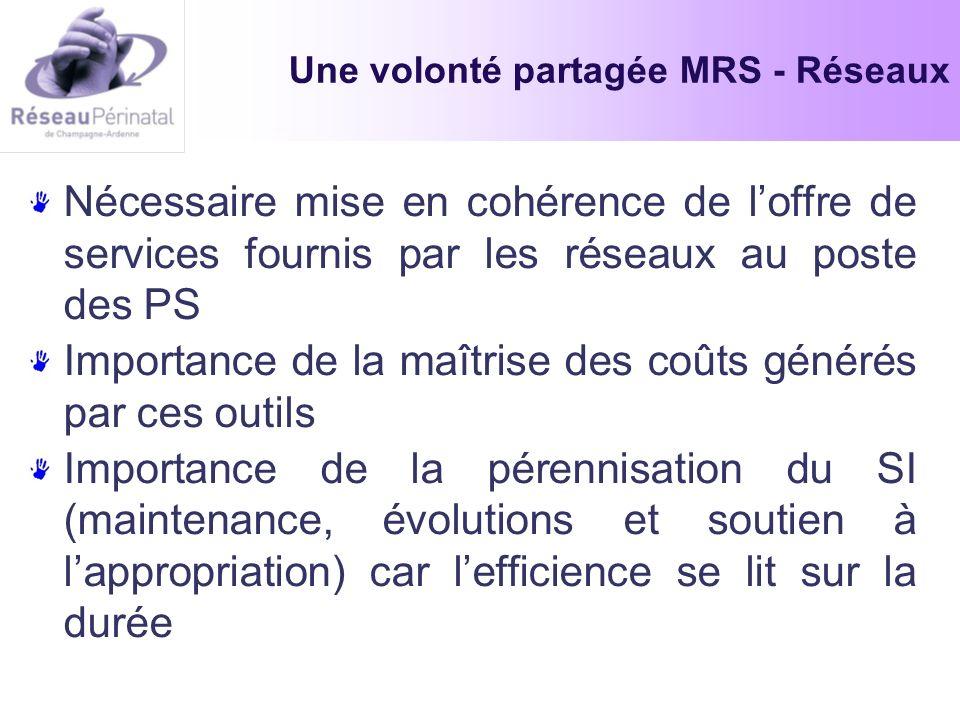 Une volonté partagée MRS - Réseaux
