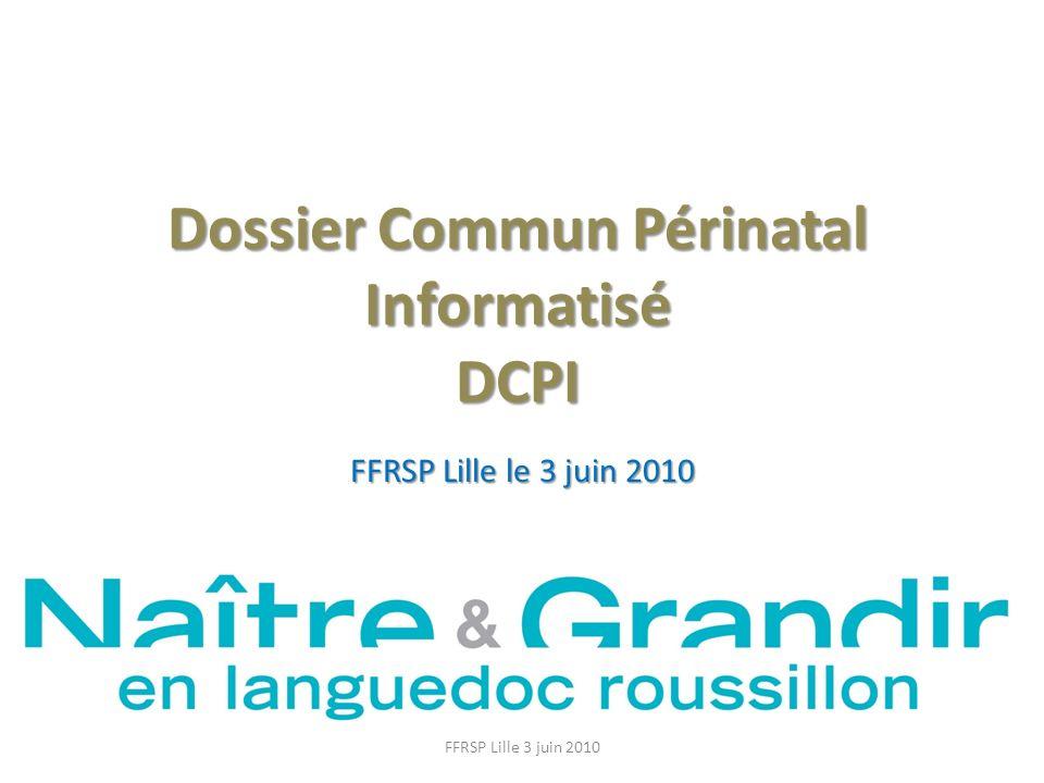 Dossier Commun Périnatal Informatisé DCPI
