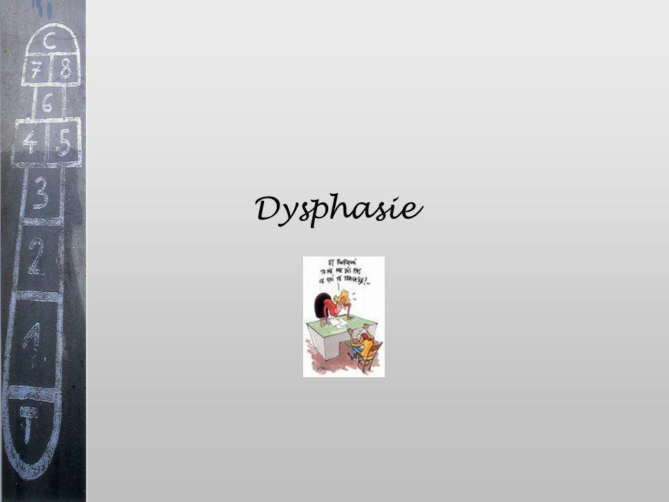 Dysphasie