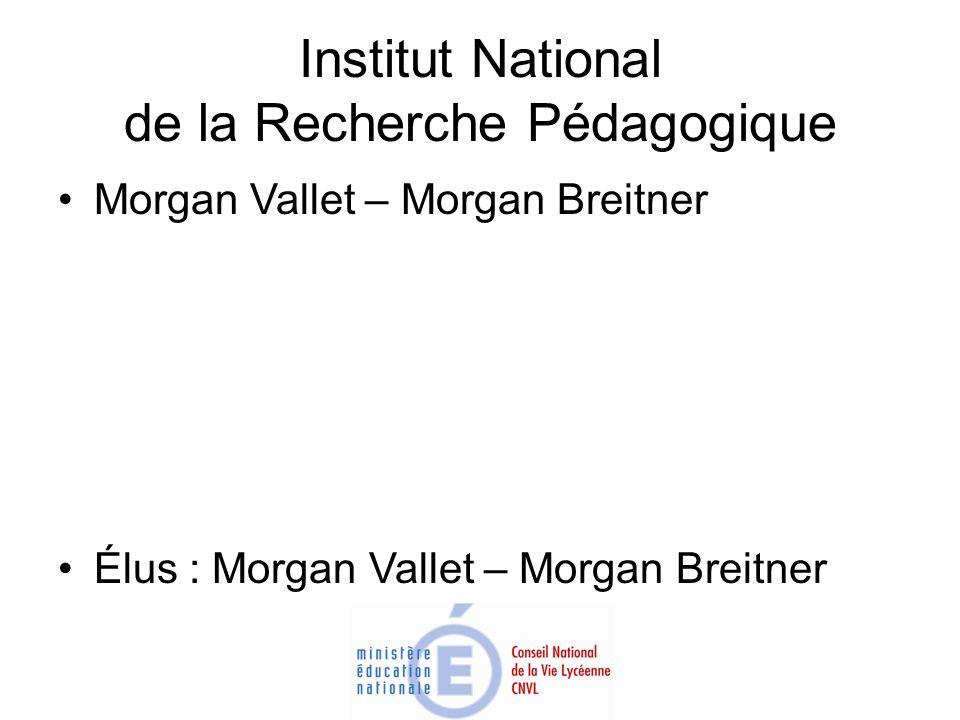 Institut National de la Recherche Pédagogique