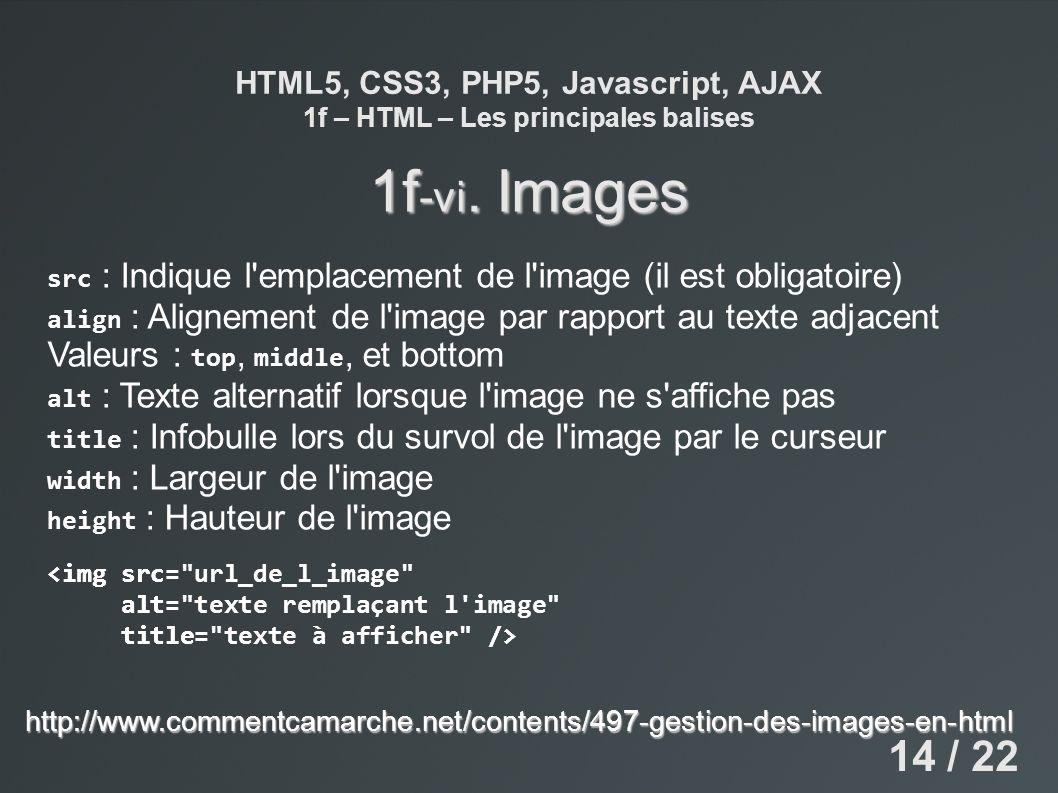 1f-vi. Images 14 / 22 Valeurs : top, middle, et bottom