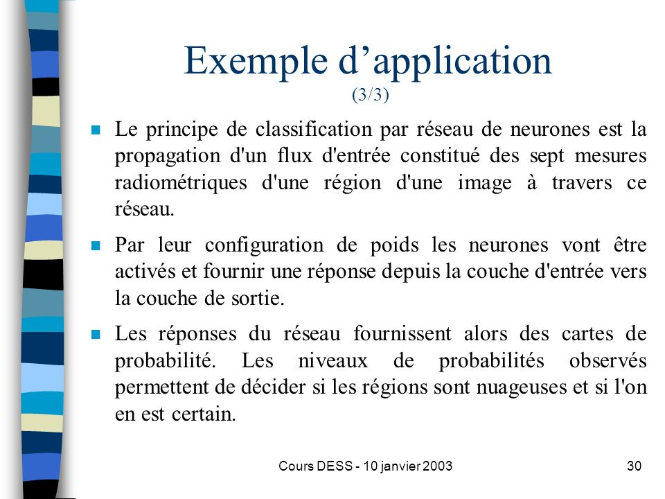 Exemple d'application (3/3)