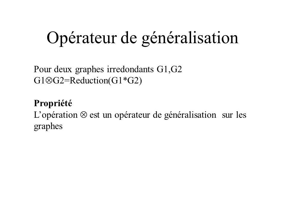 Opérateur de généralisation