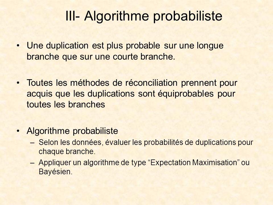 III- Algorithme probabiliste