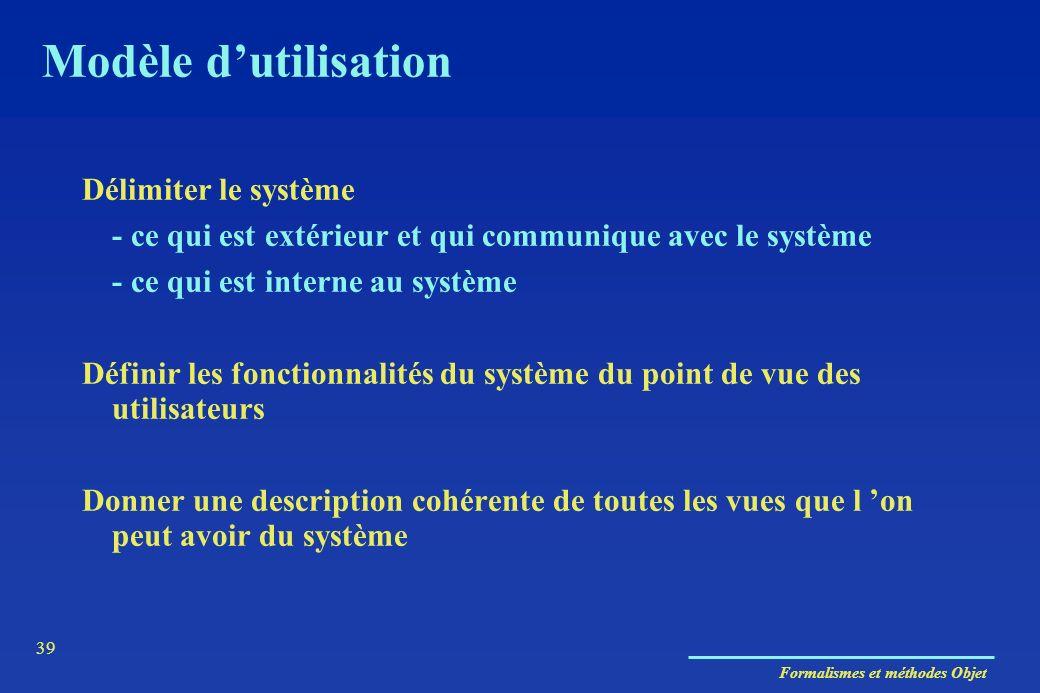 Modèle d'utilisation Délimiter le système
