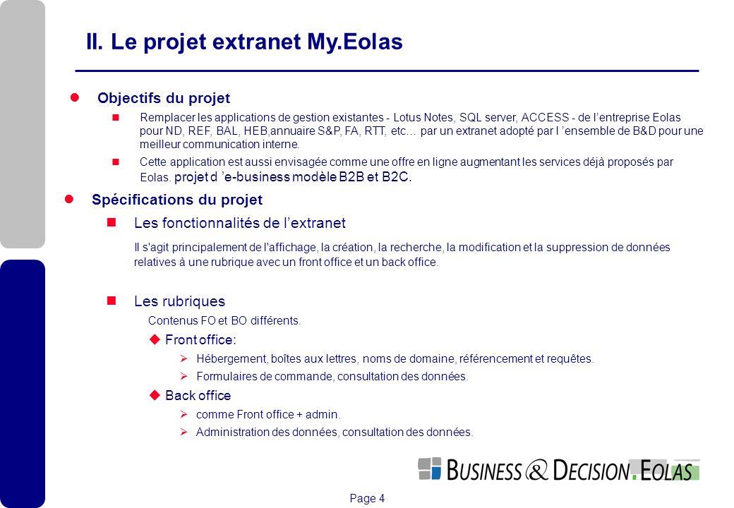 II. Le projet extranet My.Eolas