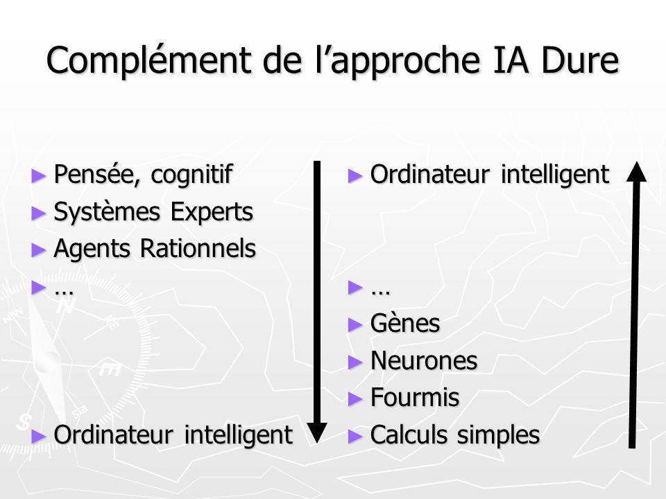 Complément de l'approche IA Dure