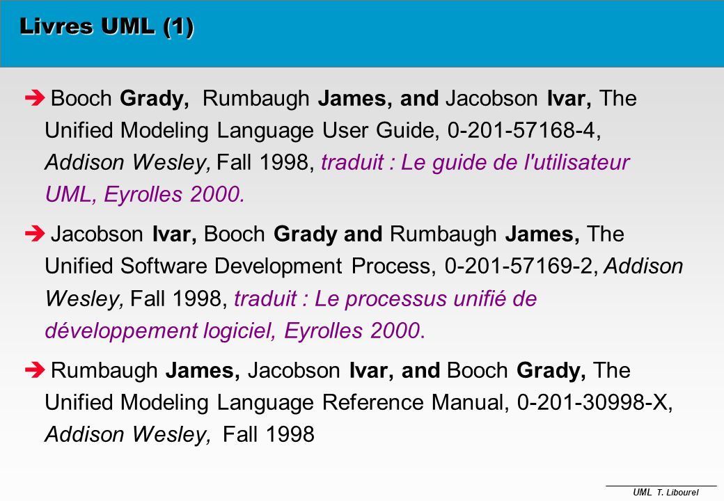 Livres UML (1)