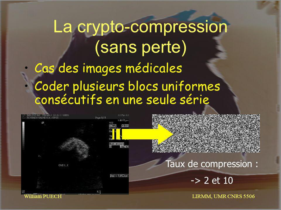 La crypto-compression (sans perte)