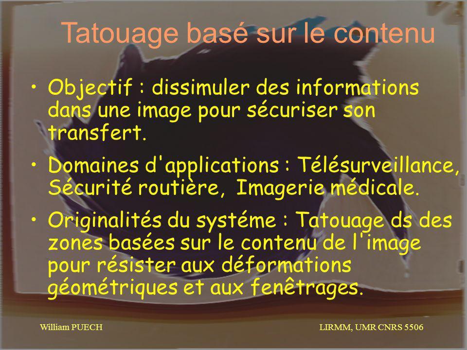 Tatouage basé sur le contenu
