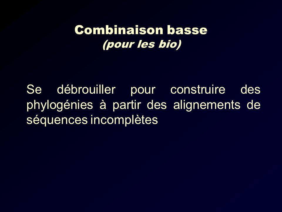 Combinaison basse (pour les bio)