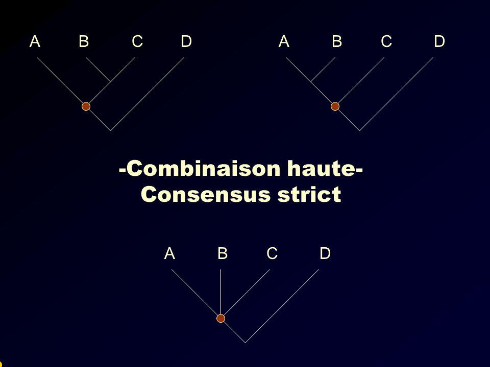 -Combinaison haute- Consensus strict