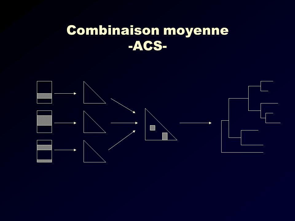 Combinaison moyenne -ACS-