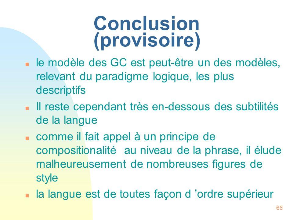 Conclusion (provisoire)